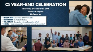CS Year-end celebration