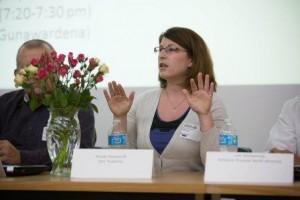 Panelist Nicole Hilsenhoff